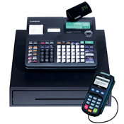 Free Casio Electronic Cash Register with built in credit card processing